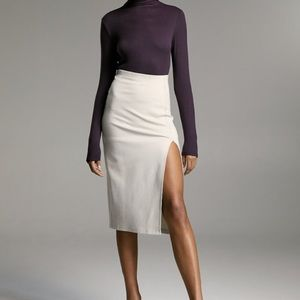 Aritzia Babaton Declan Date Slit Skirt